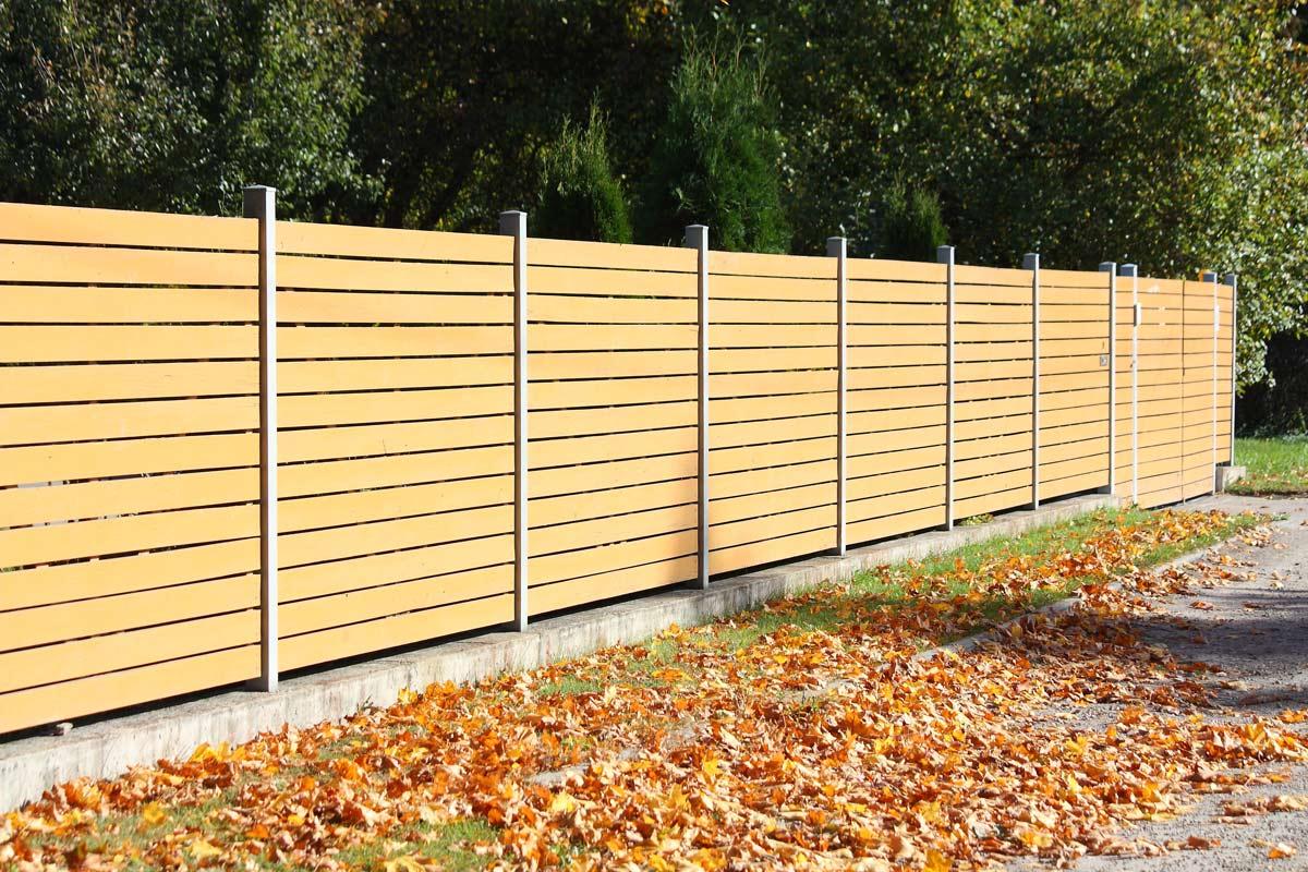 cierres cortavistas y separadores de madera