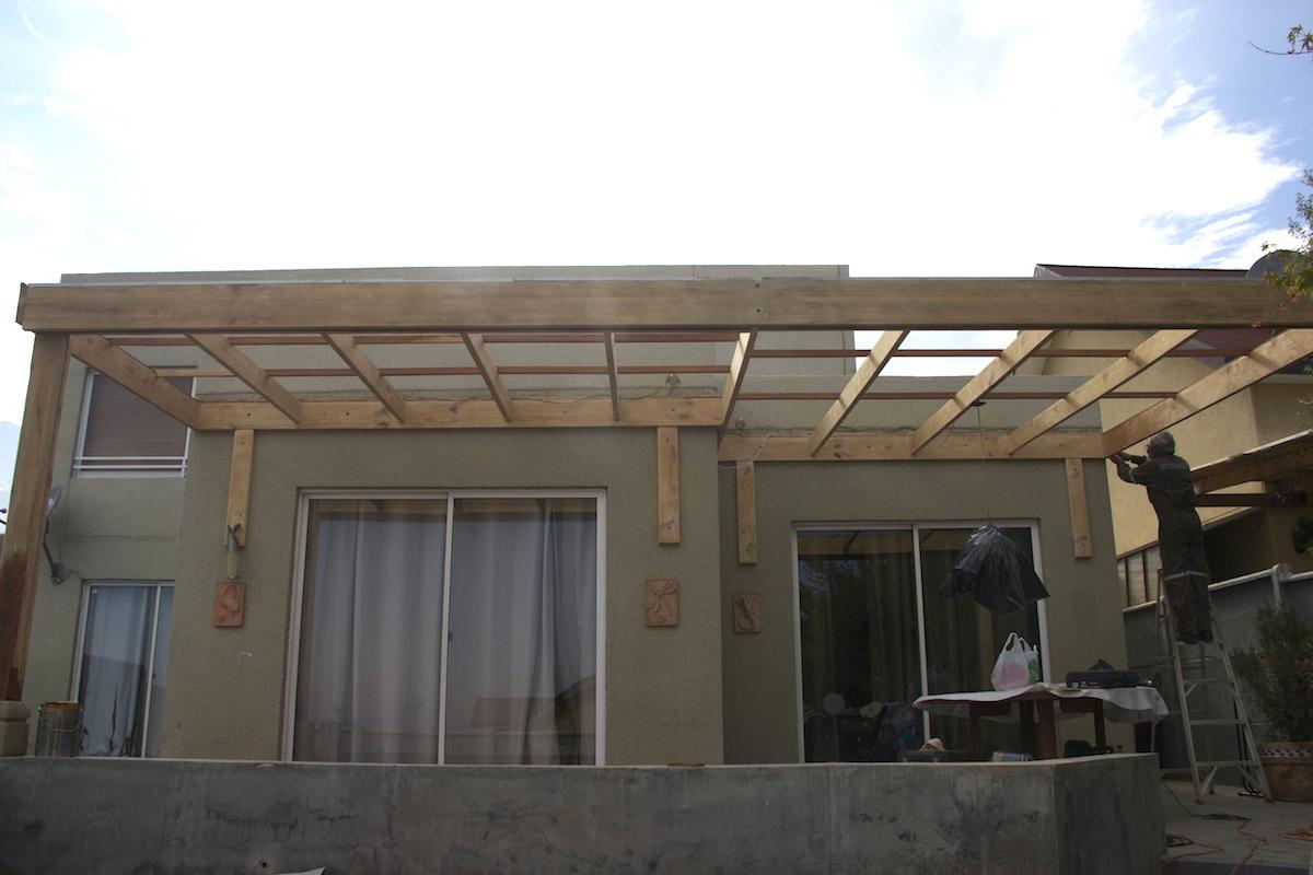 Terrazas de madera terraza y madera for Terrazas cerradas con madera