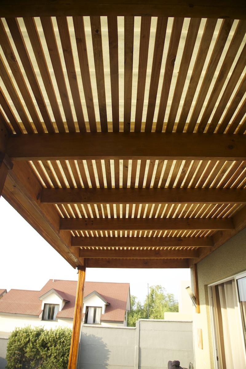 Techos de madera patio modern patio outdoor for Techos en madera para terrazas