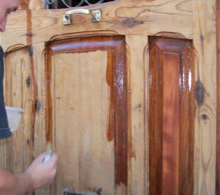 Mantenimiento de terrazas de madera - Aceite de linaza para madera ...