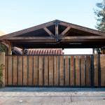 portones y estacionamientos de madera