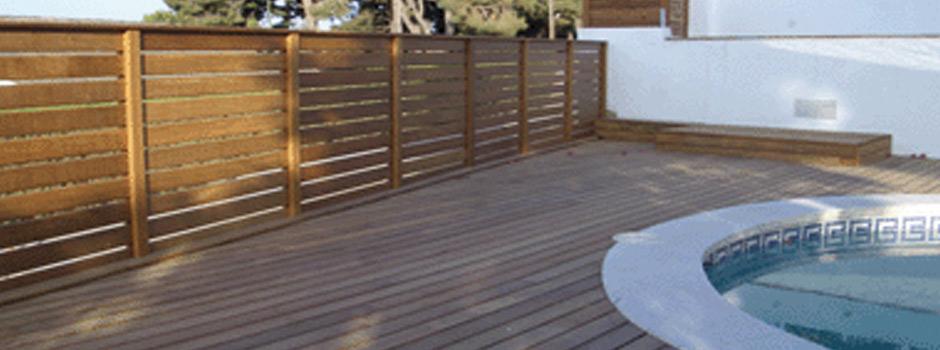 Terraza y madera construcci n de terrazas en madera for Terraza de madera exterior