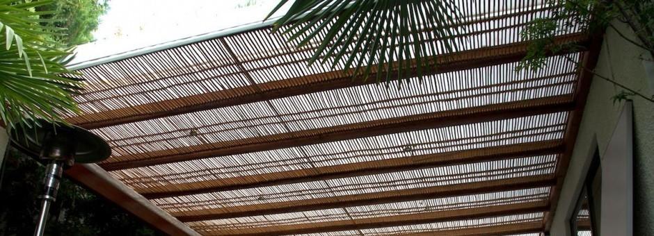 Terrazas de madera en Santiago