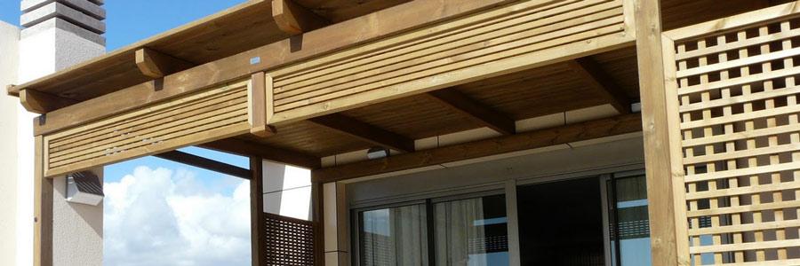 Accesorios de terraza for Muebles terraza madera
